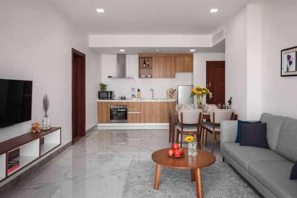 Living Room in Phnom Penh